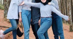 hijab kekinian sopan