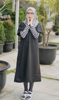 hijab remaja kekinian sopan