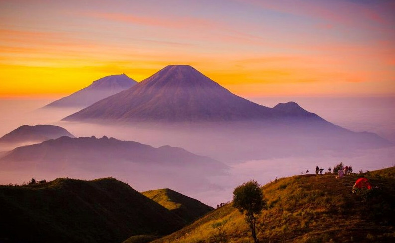 Wisata Wonosobo Gunung Prau