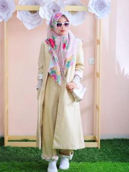 Tutorial cara memakai hijab syar'i dalam berbagai suasana