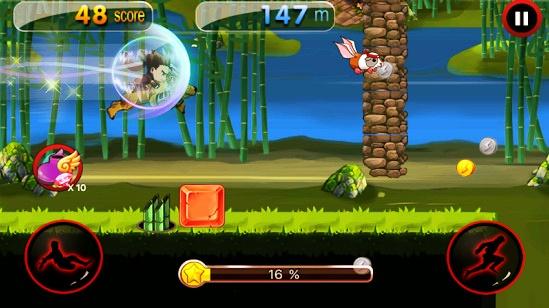 Dragon Ninja Rush - Game Smartphone Meningkatkan Kreativitas