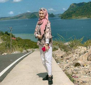 hijab saat panas matahari