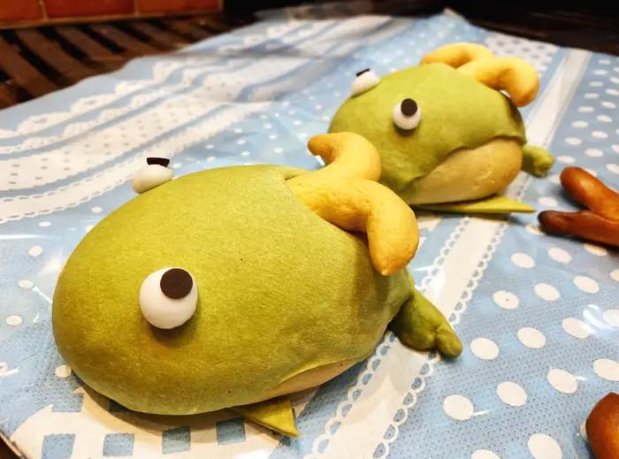Kue bertema binatang laut di Vie De France di Tokyo Solamachi