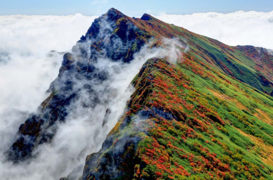 Gunung Tanigawa di Jepang