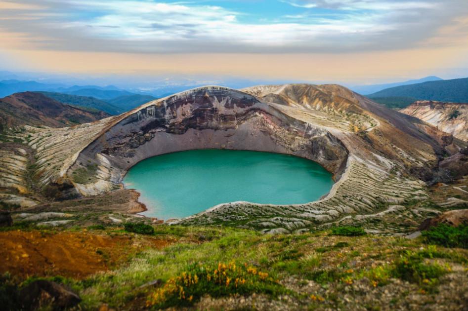 Gunung Zao di Jepang